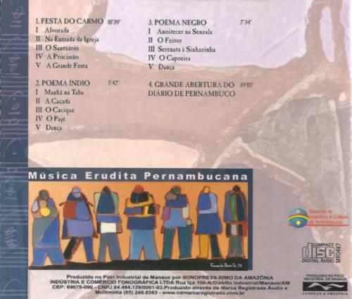 CD Musica Erudita - contracapa
