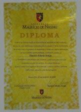medalha mauricio-de-nassau-diploma